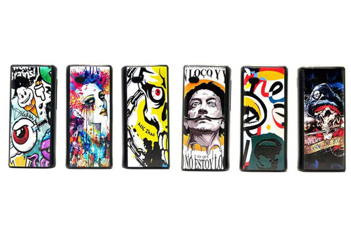 Adjustable Voltage 650mAh Single Battery Box Mod 510 Thread 15s Preheat Time Komodo C3